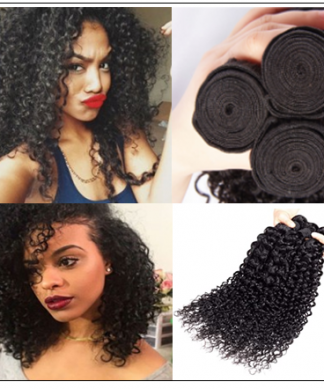 3 Bundles Jerry Curly Weave Deals Virgin Hair img