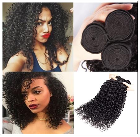 3 Bundles Jerry Curly Weave Deals Virgin Hair img