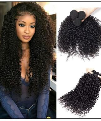 3 Bundles Virgin Peruvian Hair Jerry Curly img 1