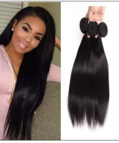 3 bundle of straight hair img 1
