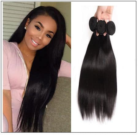 3 bundle of straight hair img 1