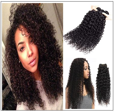 4 Bundles Jerry Curl Peruvian Hair Weave img 2