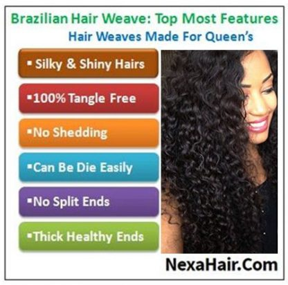 4 Bundles Weft Natural Color Peruvian Jerry Curly Hair img 4