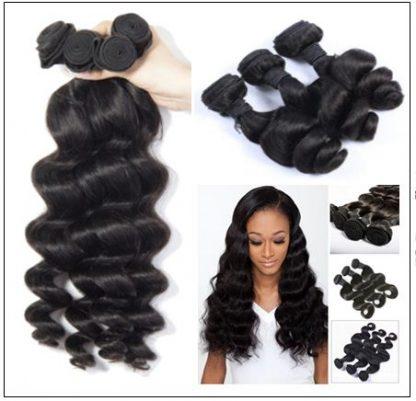 4 Pcs pack Hair Brazilian Loose Wave Virgin Hair 2