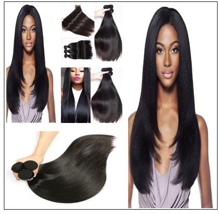 4 PcsPack Straight Raw Virgin Human Hair Bundles 2