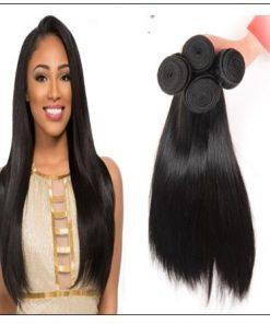 4 PcsPack Straight Raw Virgin Human Hair Bundles 3