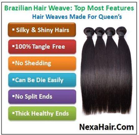 4 PcsPack Straight Raw Virgin Human Hair Bundles 4