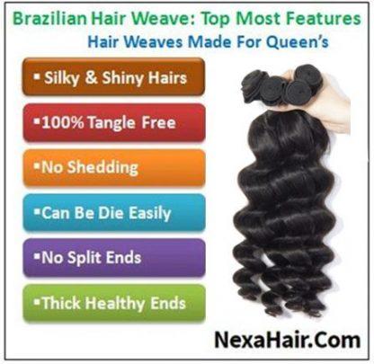 4 Pcspack Hair Brazilian Loose Wave Virgin Hair 4