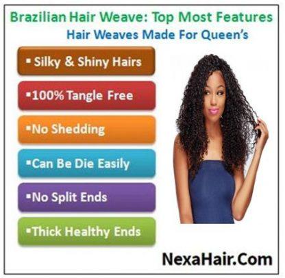 Brazilian Curly Human Hair Weaves 4 Bundles Deals
