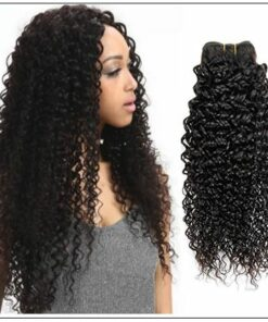 Brazilian Curly Human Hair Weaves 4 Bundles Deals img 1
