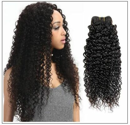 Brazilian Curly Human Hair Weaves 4 Bundles Deals img 1