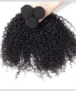 Brazilian Curly Human Hair Weaves 4 Bundles Deals img 3