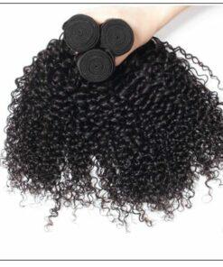Brazilian Jerry Curly Human Virgin Hair Weaving 3 Bundles Deals img 2