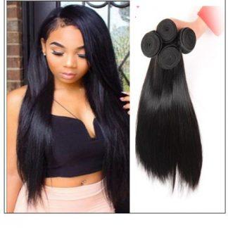 Brazilian straight hair bundles img 1