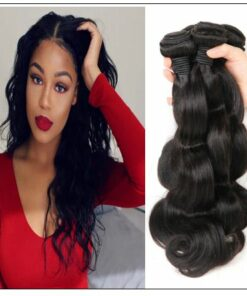 Indian Body Wave Virgin Hair Weave Remy Hair 3 Bundle img