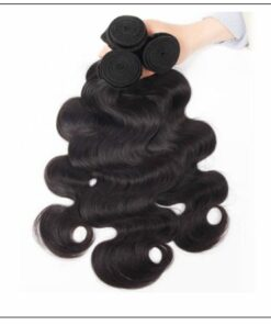 Indian Body Wave Virgin Hair Weave Remy Hair 3 Bundle img 4