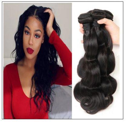 Indian Body Wave Virgin Hair Weave Remy Hair 3 Bundle img