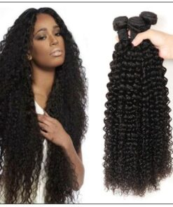 Kinky curly hair bundle img 1