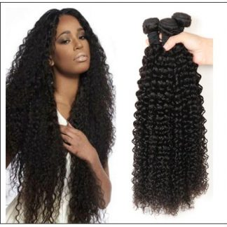 Kinky curly hair bundle img 1