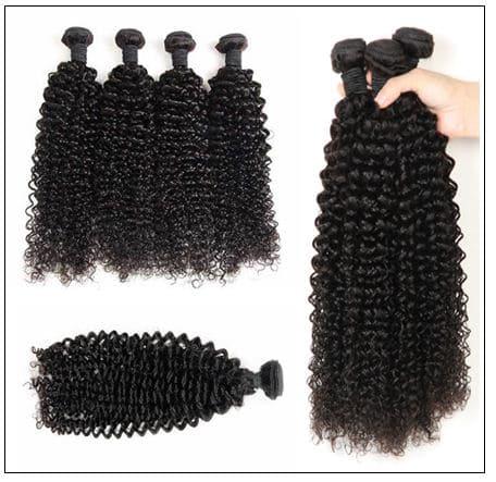 Kinky curly hair bundle img 2