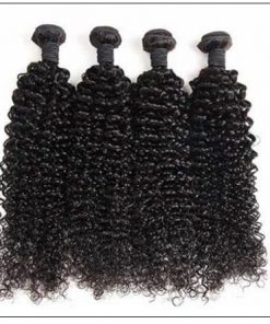 Kinky curly hair bundle img 3