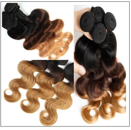 Malaysian Body Wave Hair Ombre 3 Bundle img 4