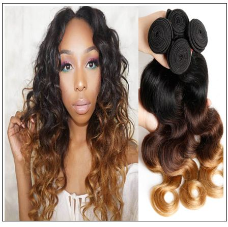 Malaysian Body Wave Hair Ombre 3 Bundle img