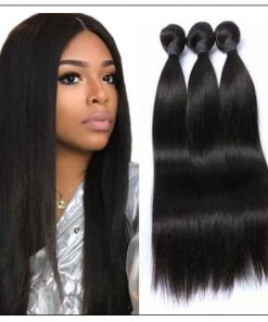 Malaysian straight hair bundle img 1