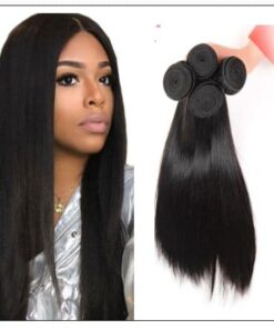 Malaysian straight hair bundle img 4