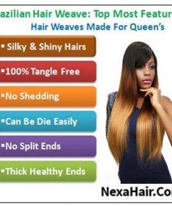 Ombre 4 Bundles Straight Human Virgin Hair pic