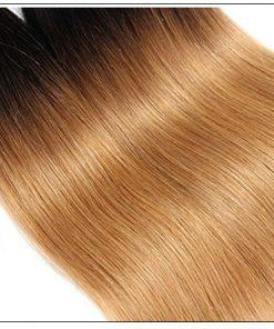 Ombre 4 Bundles Straight Human Virgin Hair pic 4