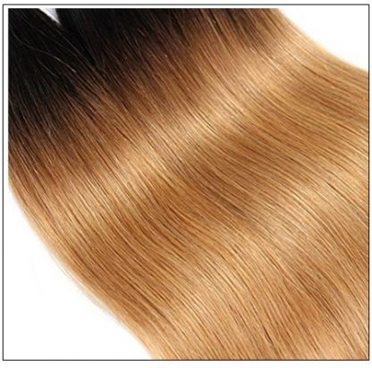 Ombre 4 Bundles Straight Human Virgin Hair pic 4