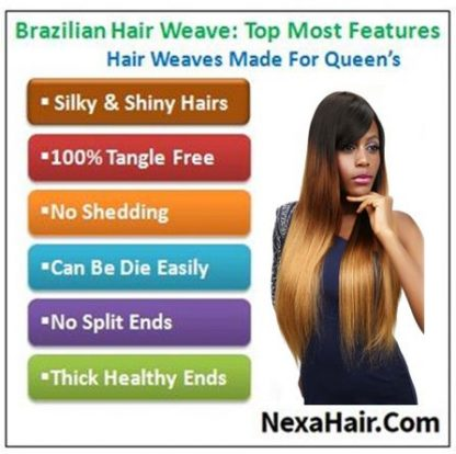 Ombre 4 Bundles Straight Human Virgin Hair pic
