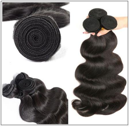 Peruvian Body Wave Human Hair 3 Bundle Weft img 2
