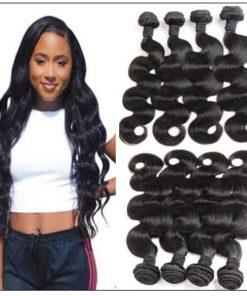 Peruvian Human Hair 3 Bundles Virgin Unprocessed Body Wave img