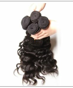 1 Bundle Human Hair Natural Wave Virgin Remy Hair img