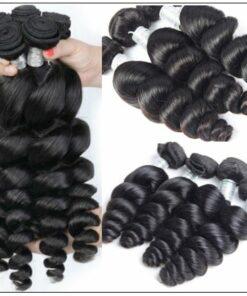 1 Bundle Loose Deep Wave Virgin Human Hair img 3-min