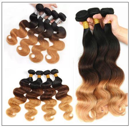 1 Bundle Unprocessed Ombre Body Wave Human Virgin Hair Wave img 2-min