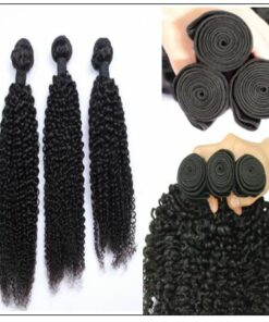100% Kinky Curly Virgin Human Hair Bundle img 2