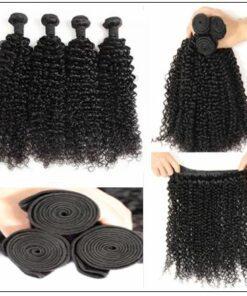 100% Kinky Curly Virgin Human Hair Bundle img 3