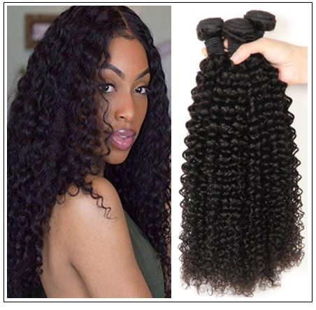 100% Kinky Curly Virgin Human Hair Bundle img