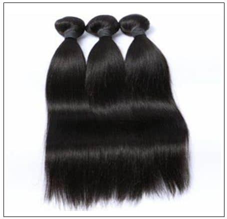 2 bundle of Brazilian straight hair img 2