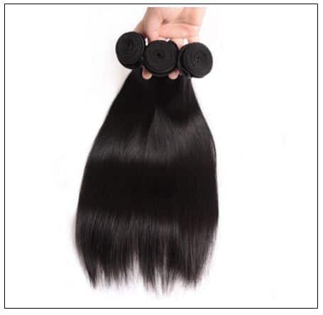 2 bundle of Brazilian straight hair img 3