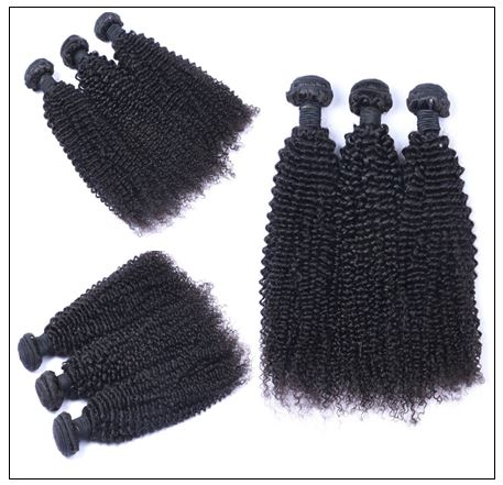 3 Bundle Indian Jerry Curly Human Hair Extensions img 3-min