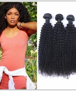 3 Bundle Indian Jerry Curly Human Hair Extensions img-min