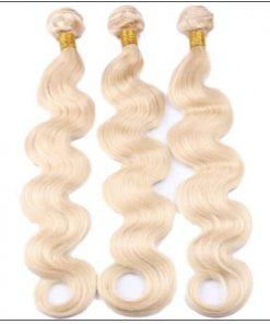 3 Bundles Body Wave 613 Blonde Virgin Human Hair img 2-min