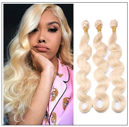 3 Bundles Body Wave 613 Blonde Virgin Human Hair img-min
