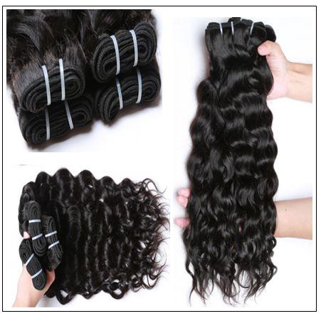 3 Bundles Brazilian Natural Wave Hair Weaves img 2-min
