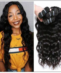 3 Bundles Brazilian Natural Wave Hair Weaves img 3-min