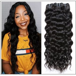 3 Bundles Brazilian Natural Wave Hair Weaves img-min